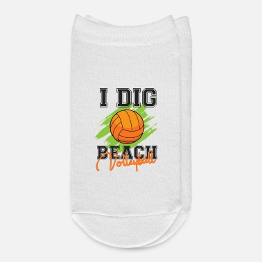 Beach Volleyball I dig beach volleyball - Ankle Socks