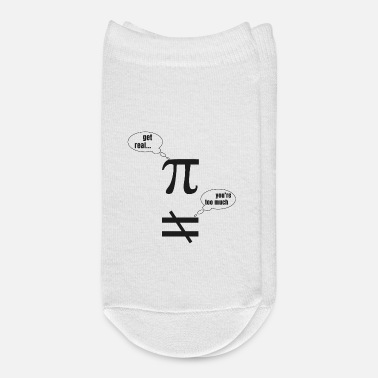 Funny Pictures Mathematician Pi Funny Picture - Ankle Socks