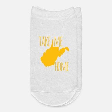 Home Is West Virginia West Virginia Take Me Home Shirts Gifts - Ankle Socks