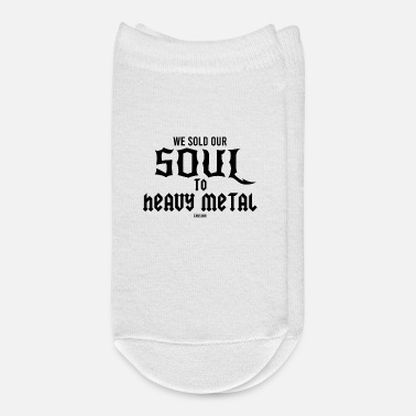 Rock metal guitar Punk saying - Ankle Socks