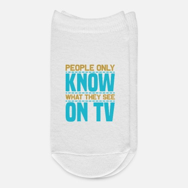 Dvd Watching TV - People only - Ankle Socks