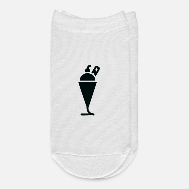 Ice cream and icecream symbol - Ankle Socks