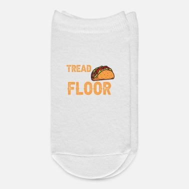 Funny Crossfit Funny Weight Loss Crossfit Tread Row Floor Tacos - Ankle Socks