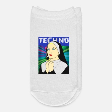 Techno Techno Nun - Ankle Socks