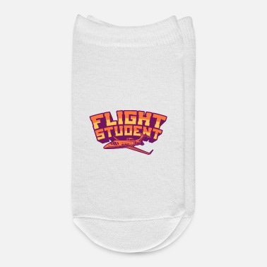 Aviation FLIGHT STUDENT JET Flight Student Gift For Pilot - Ankle Socks