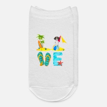 Summer Vacation Shirts German Shorthaired Pointer - Ankle Socks