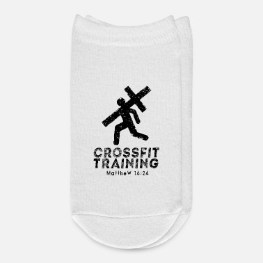 Funny Crossfit Crossfit Training & Christian Faith - Ankle Socks