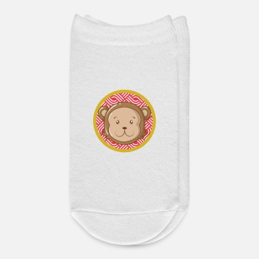 Chinese Zodiac Monkey Chinese Zodiac - Ankle Socks