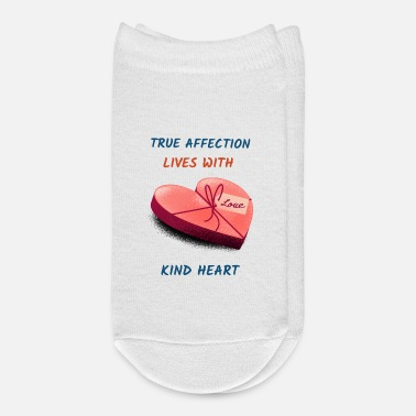Affection True Affection Lives with Kind Heart - Ankle Socks