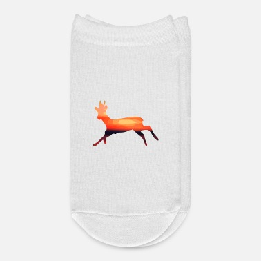 Stag Stag at sunset - Ankle Socks