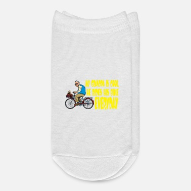 Bmx Grandfather My Grandfather is a cool cicyler & biker / gift - Ankle Socks