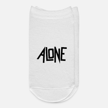 Alone alone - Ankle Socks