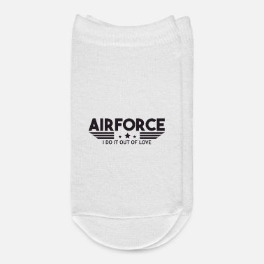 Numbered Air Force Air Force I Do It Out Of Love - Air Force - Ankle Socks