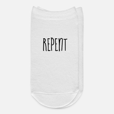 Repent - Christian - Ankle Socks