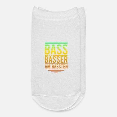 Bass Bass Basses The Best For Bass Players - Ankle Socks