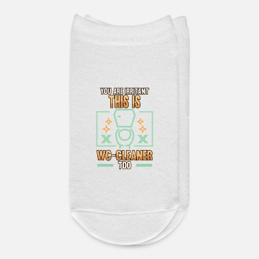 Wc sarkasmus joke sarcasm society provocation humor - Ankle Socks