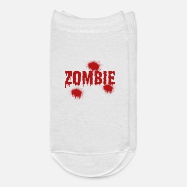 Apocalypse Zombie - Blood - Apocalypse - Pandemic - Ankle Socks