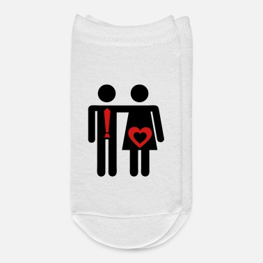 Wedding Couple couple love icon sex wedding - Ankle Socks