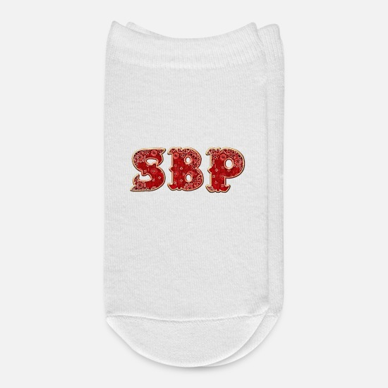 Business Socks - SBP STRICTLY BUSINESS PRODUCTIONS DESIGN BY CON - Ankle Socks white
