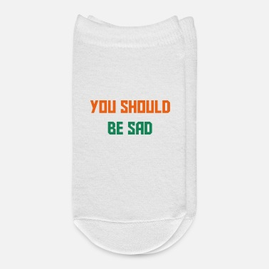 Saddle You should be sad - Ankle Socks