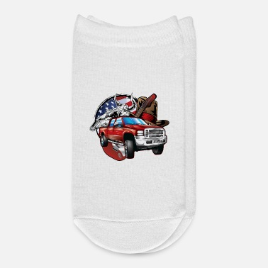 Cowboy Country Cowboy Ford F250 - Ankle Socks