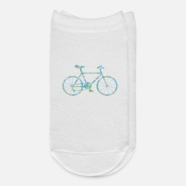 Pattern Patterned Bicycle - Ankle Socks