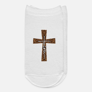 Leopard Faith Christ Leopard - Ankle Socks