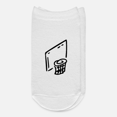 Basket Basketball Basket - Drawing - Ankle Socks