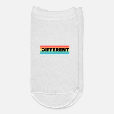 Different different! - Ankle Socks