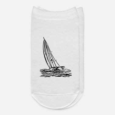 Wind Sailboat on the wind - Ankle Socks