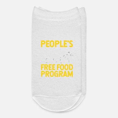 Program-what-you-do Peoples Free Food Program - Ankle Socks