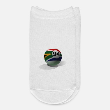 Freedom billiard ball with shadows - Ankle Socks