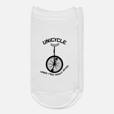Mobile Unicycle Mobile Device Curved - Ankle Socks