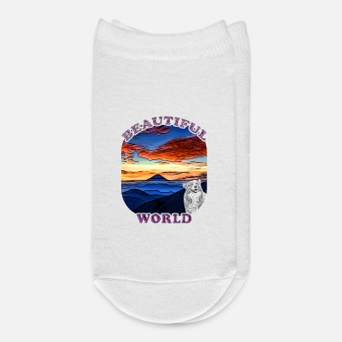 Nature Lovers Beautiful world nature lover gift idea - Ankle Socks