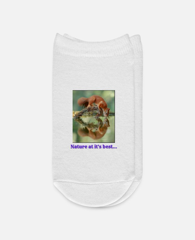 Nature Socks - Nature at its best - Ankle Socks white