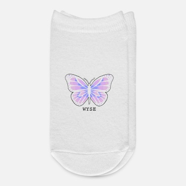 WYSE Butterfly (no white background) - Ankle Socks