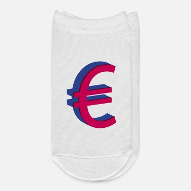Euro 3D Euro € sign - Ankle Socks