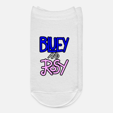 Australian Sheep Dog Bluey and Rosy Logo - Ankle Socks