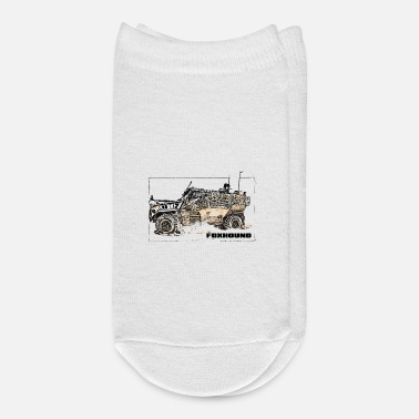 Vehicle Foxhound IFV military vehicle sketch - Ankle Socks