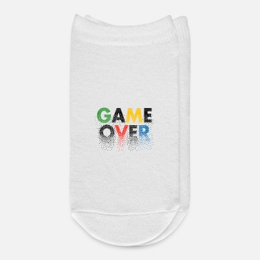 Gamer Couples Game over Pixel - Ankle Socks