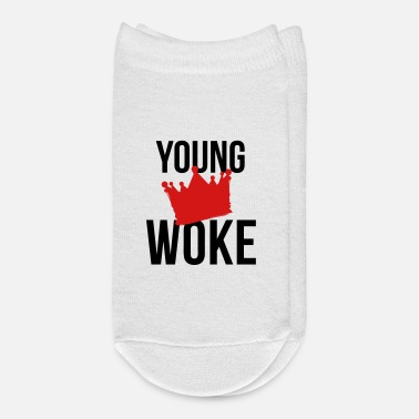 Young YOUNG AND WOKE - Ankle Socks