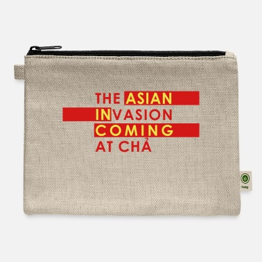 Asian Asian Invasion Asian in Coming - Carry All Pouch
