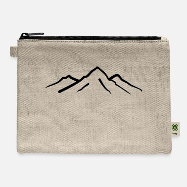 Mountains Mountain, Mountains - Carry All Pouch