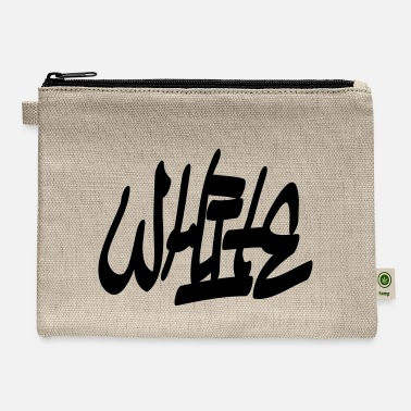 White white - Carry All Pouch