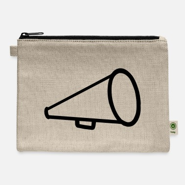 Cheerleader Megaphone One - Carry All Pouch