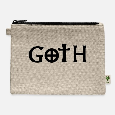 Goth goth - Carry All Pouch