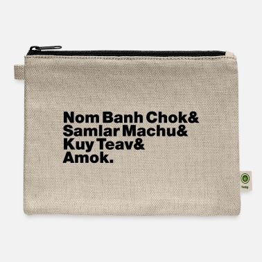 Amok Cambodian / Khmer Street Food - Carry All Pouch