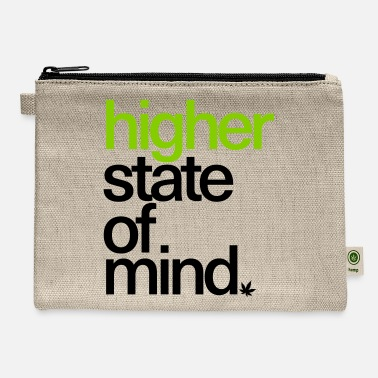 Higher State Of Higher State of Mind. - Carry All Pouch