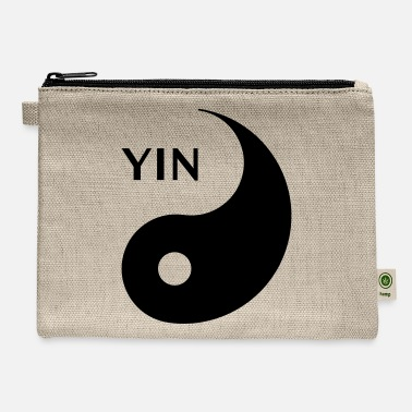 Couple Marriage Spiritual Yin looking for Yang, Part 1, tao, dualities - Carry All Pouch