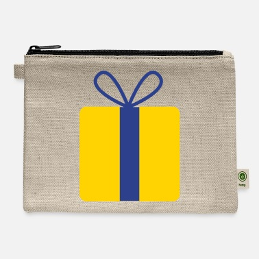 Present present gift with bow - Carry All Pouch